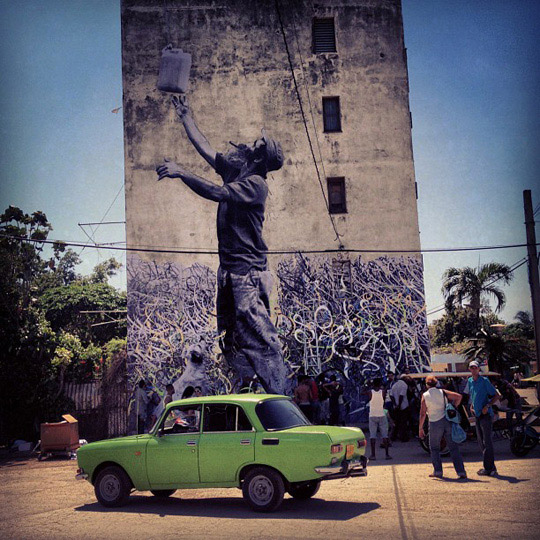 Graffiti in Havana