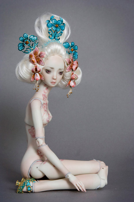 Porcelain Beauties by Marina Bychkova
