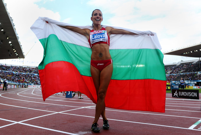 Ivet Lalova – the beautiful face of athletics