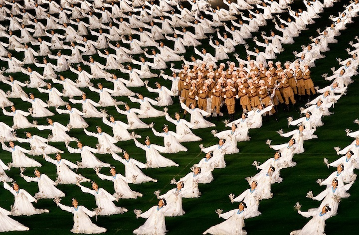 The Mass Games in North Korea