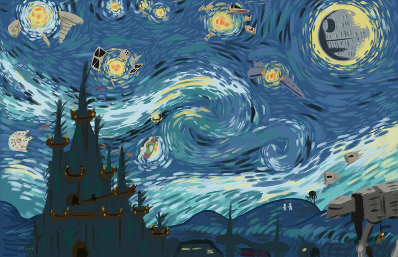 Van Gogh but not